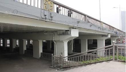 桥梁美化-迎泽桥涂装工程